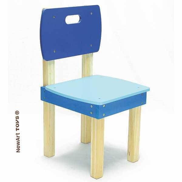 Cadeira Quadrada Azul