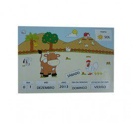 Calendário Imantado - Três Porquinho/ Fazenda