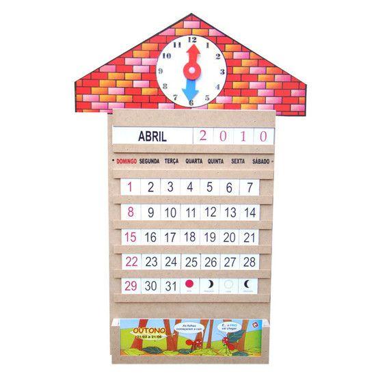 Calendário Relógio
