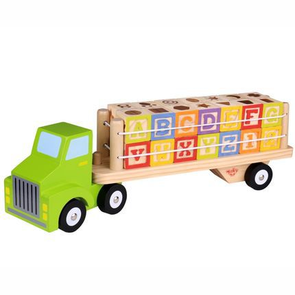 Caminhão Alfabeto e Números