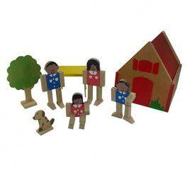 Casinha Com Família Articulada