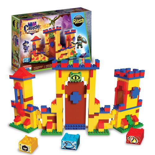 Castelo de Fogo - 400 Peças