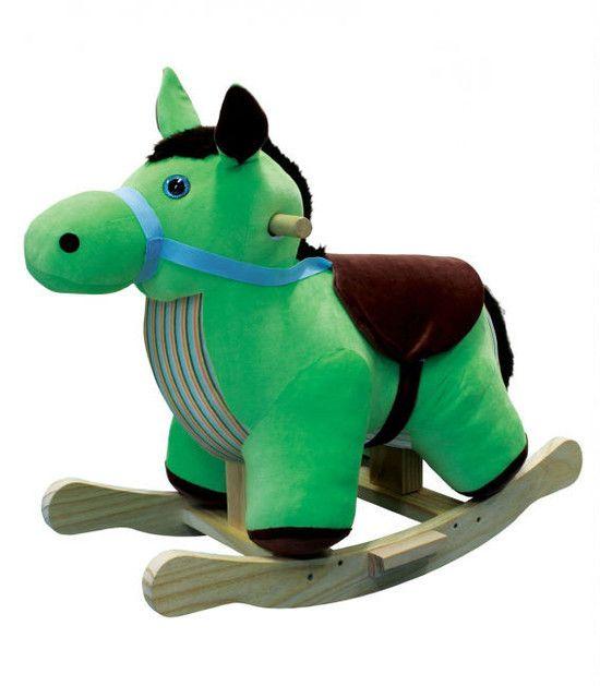 Cavalo de Balanço de Tecido