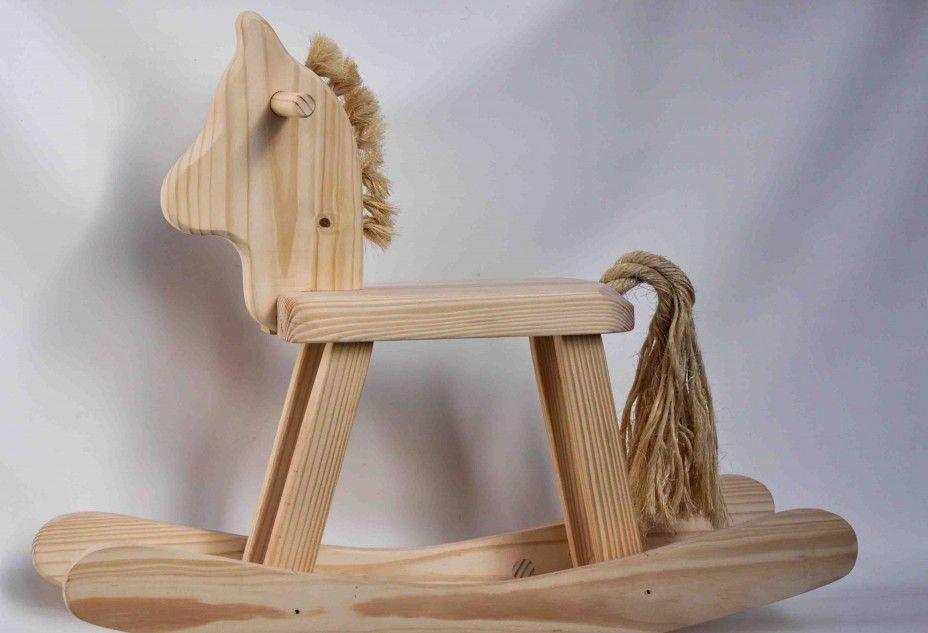 Cavalo de Balanço Para Montar