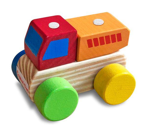 Caminhão Wood Toys