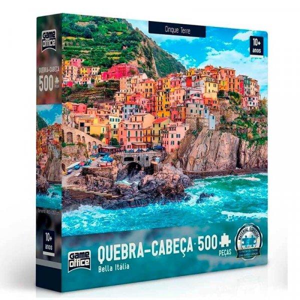 Cinque Terre - Bella Italia: Quebra-Cabeça 500 Peças