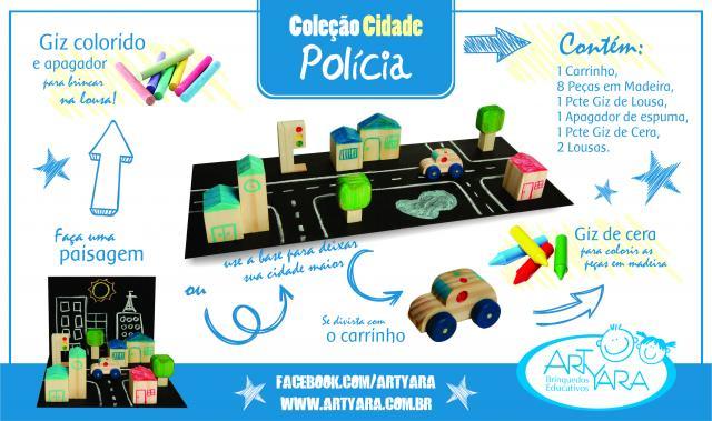 Coleção Cidade Polícia