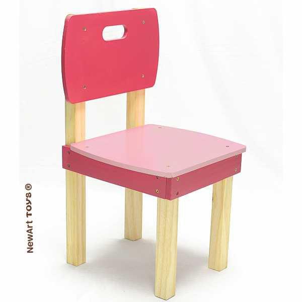 Coleção Móveis: Cadeira Pinus Rosa