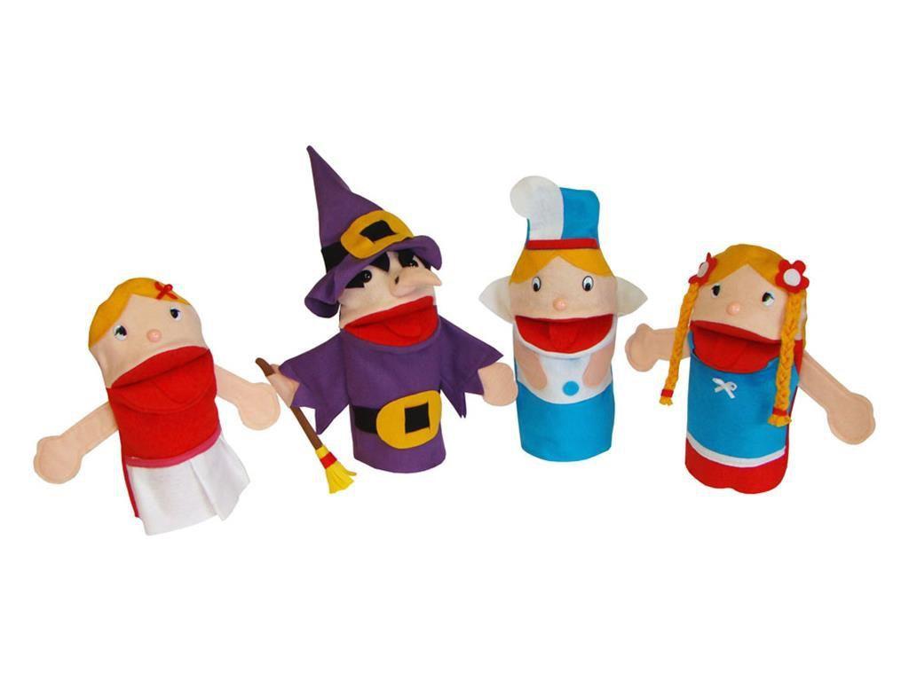 Conjunto de Fantoches Rapunzel