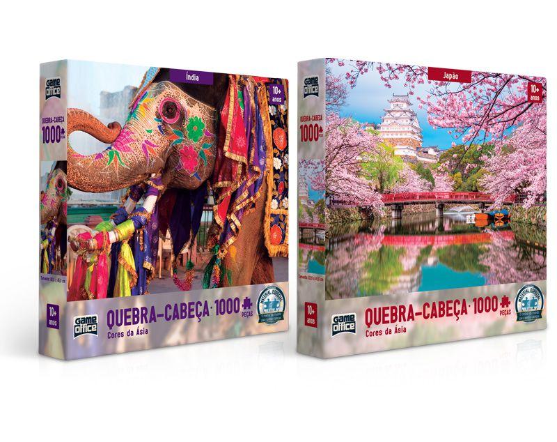 Cores da Ásia – Quebra-cabeça 1000 peças