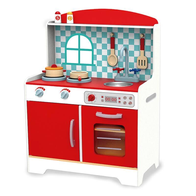 Cozinha Cor Vermelha