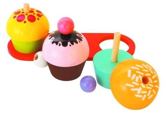 Cupcakes - Coleção Brincando de Comidinha