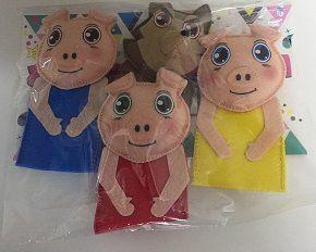 Dedoches Três Porquinhos