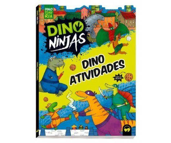 Dino Ninjas Azul Atividades