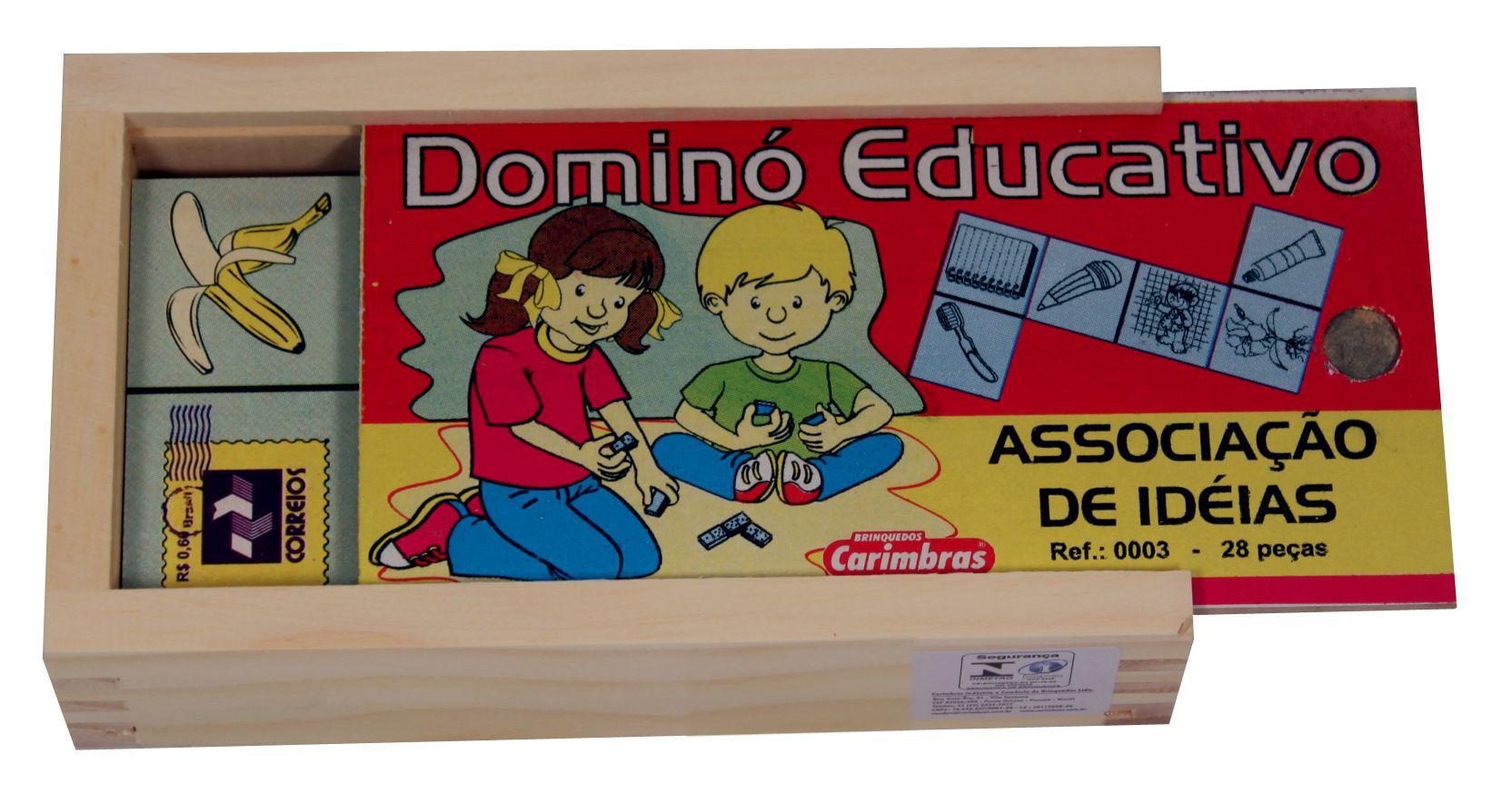 Dominó Educativo Associação de Ideias