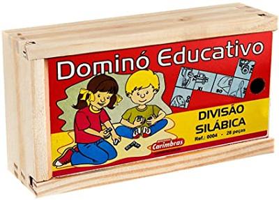 Dominó Educativo Divisão Silábica
