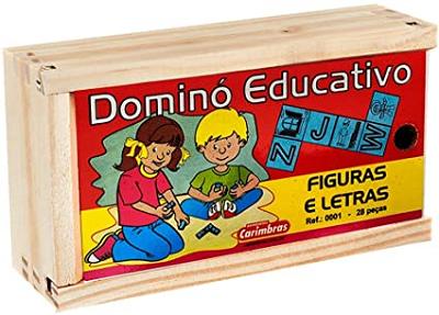 Dominó Educativo Figuras e Letras