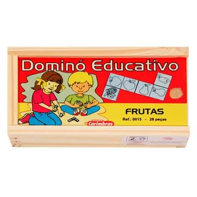 Dominó Educativo Frutas