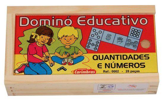 Dominó Educativo Quantidades e Números
