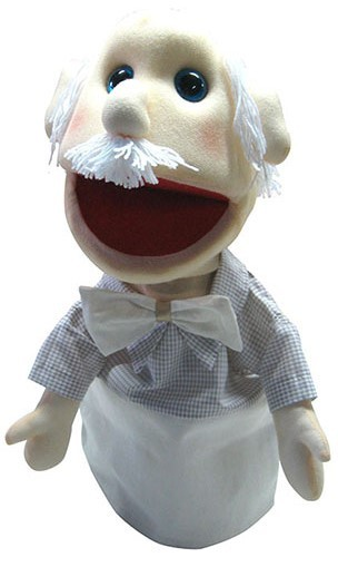Fantoche Vovô Branco