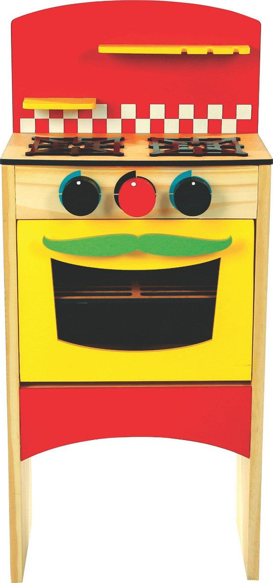 Fogão Infantil Newart Toys de Madeira