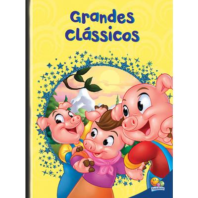 Grandes Clássicos: Os Três Porquinhos, Alice no País das Maravilhas e O Corcunda de Notre Dame.