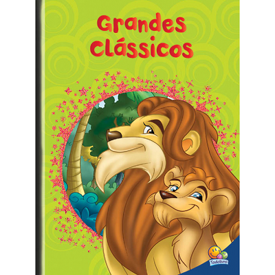 Grandes Clássicos: Rei Leão da Savana, O Mágico de Oz e Peter Pan.