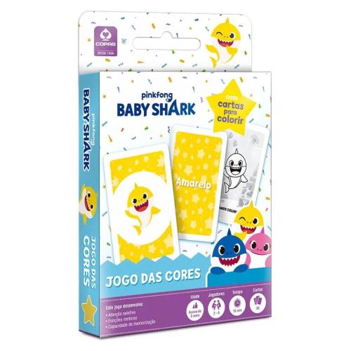 Jogo das Cores Baby Shark