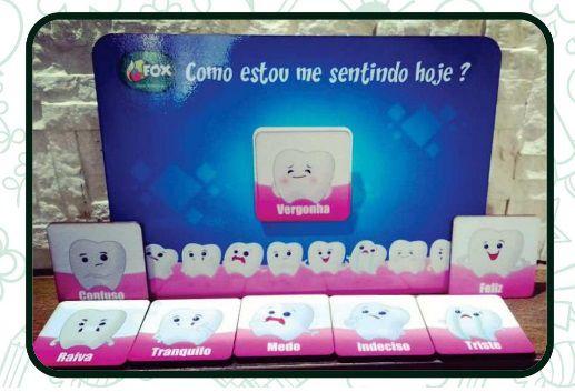 Jogo Das Emoções - Dentista