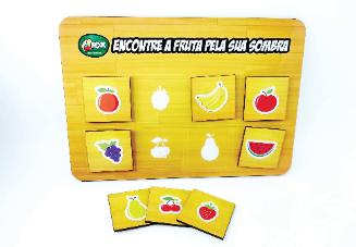 Jogo das Sombras Frutas
