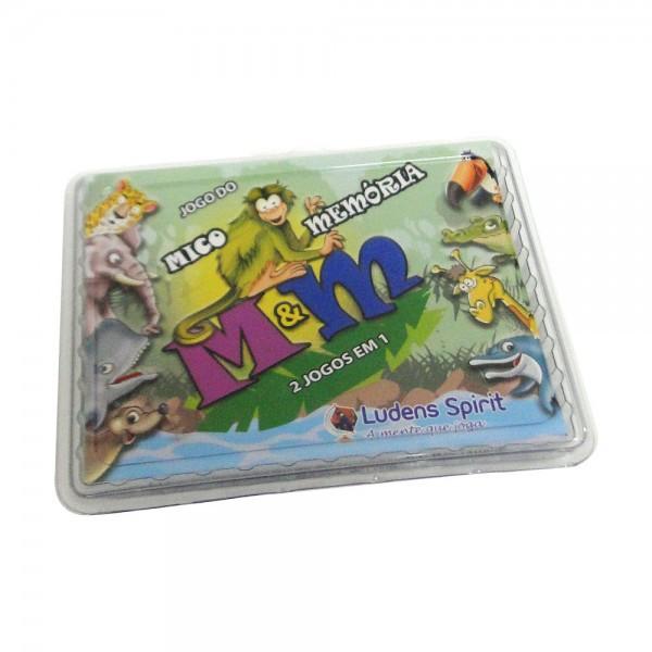 Jogo do Mico & Memória - 2 Jogos em 1 - M&M