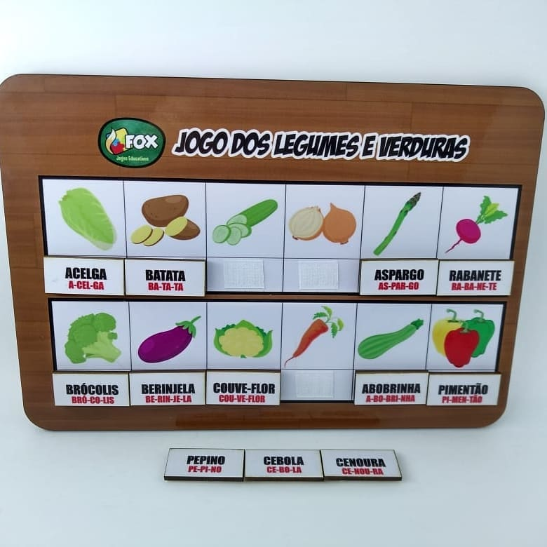 Jogo dos Legumes e Verduras