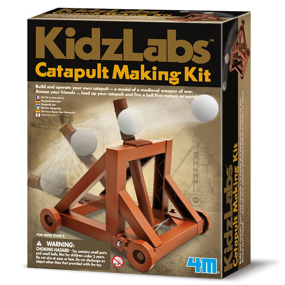 Kit Catapulta - Kidz Labs