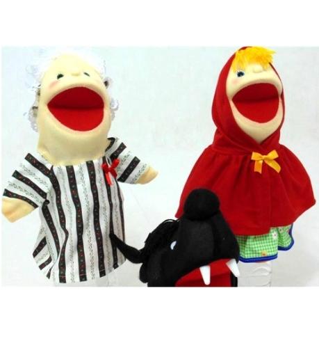 Kit Fantoches Chapeuzinho Vermelho