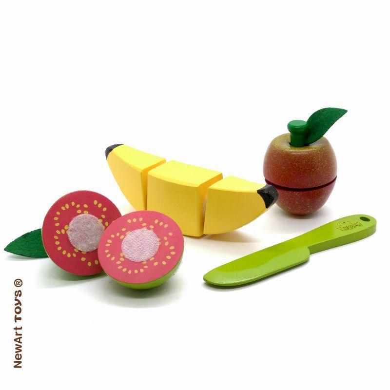 Kit Frutinhas Com Corte: Banana, Goiaba e Maçã