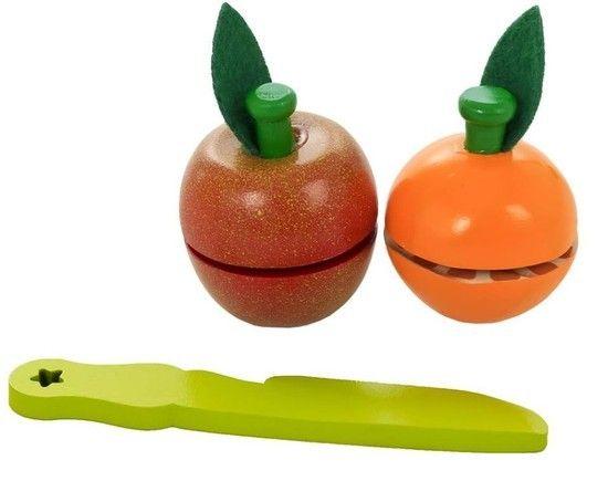 Kit Frutinhas e Legumes para Corte - Coleção Brincando de Comidinha
