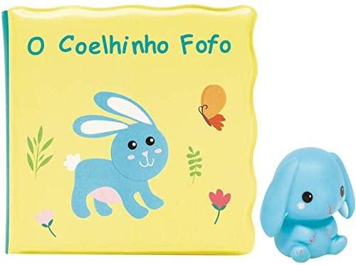 Kit Livrinho de Banho e Coelhinho