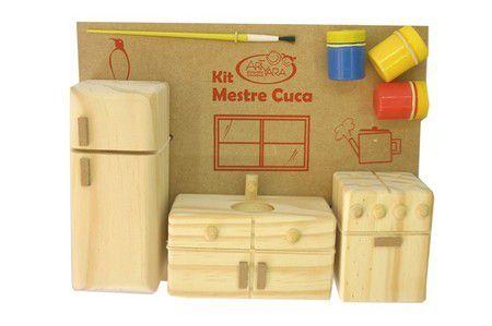 Kit Mestre Cuca - Cozinha de Madeira