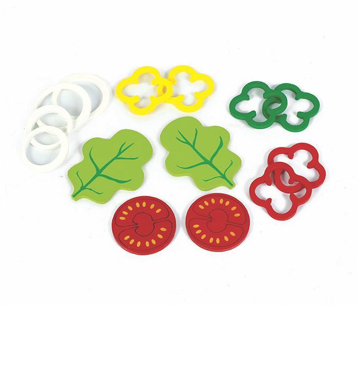 Kit Salada - Coleção Brincando de Comidinha