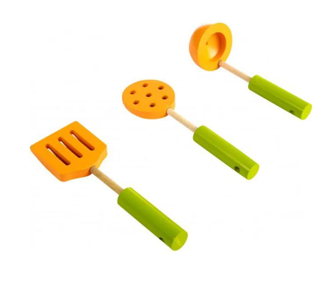Kit Utensílios De Cozinheiro