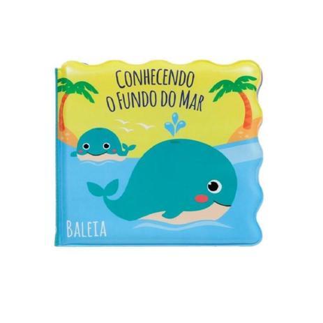 Livrinho de Banho Conhecendo o Fundo do Mar