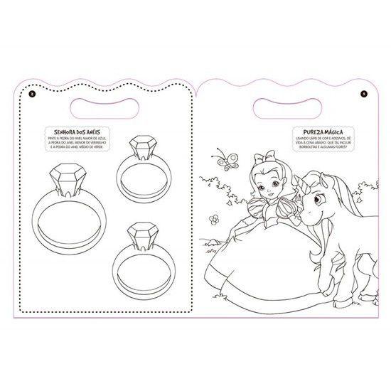 Livro Adesivos Mágicos O Reino Das Princesas