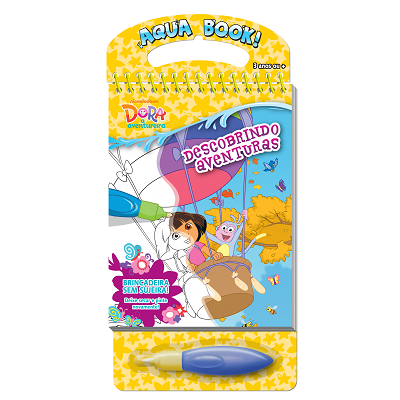 Livro Aqua Book Dora Aventureira