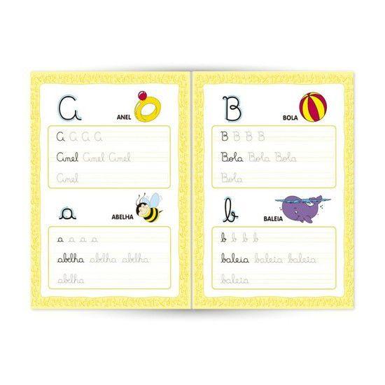 Livro Caligrafia Brincando de Escrever Primeiras Palavras 3