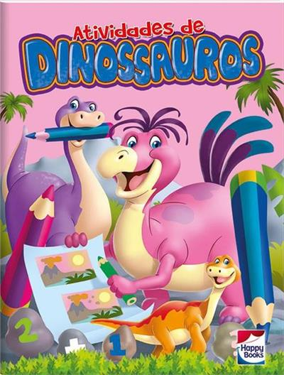 Livro de Atividades Dinossauros Vol. 3
