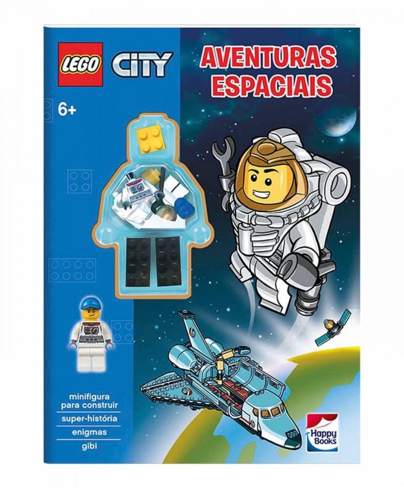 Livro de Atividades Lego City Aventuras Espaciais