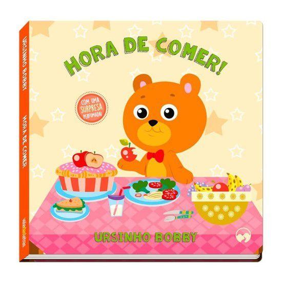 Livro De História Ursinho Bobby Hora De Comer