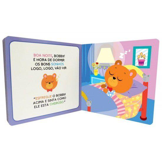 Livro de História Ursinho Bobby Hora de Dormir