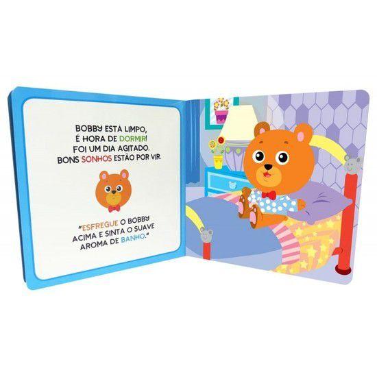 Livro De História Ursinho Bobby Hora Do Banho