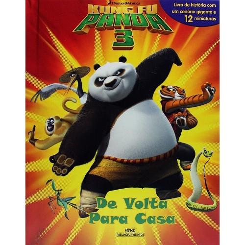 Livro Kung Fu Panda - De Volta Para Casa 3
